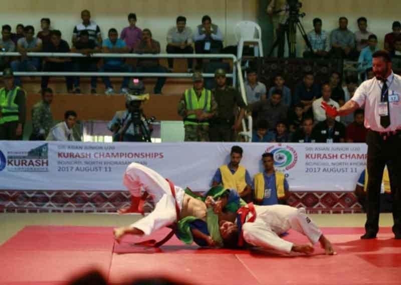 پایان پیکارهای کوراش قهرمانی جوانان آسیا با قهرمانی تیم ایران