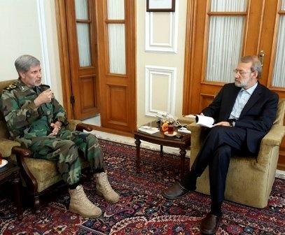 دیدار وزیر پیشنهادی دفاع با هیات رئیسه مجلس شورای اسلامی