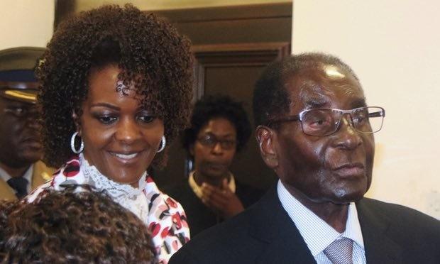 بازداشت همسر موگابه در آفریقای جنوبی