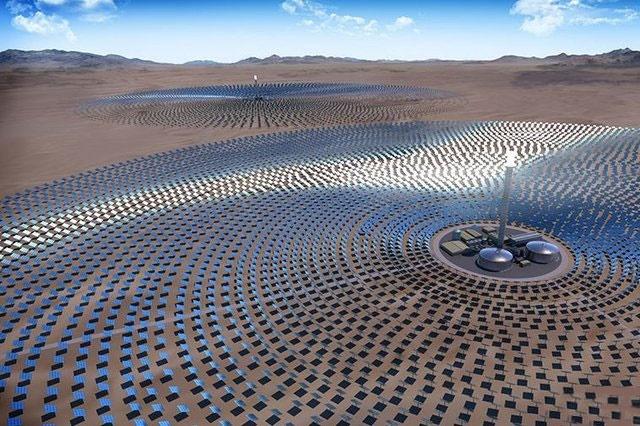 ساخت بزرگترین نیروگاه حرارتی خورشیدی دنیا