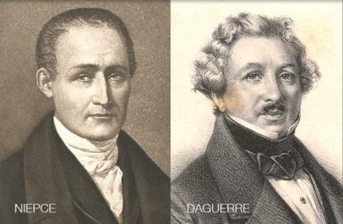 ژوزف نیسهفورنیپس (Joseph Nicephore Niepce) و لوئی داگر (Louis Daguerre)