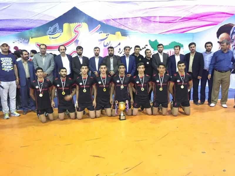 جوانان گلستانی قهرمان کبدی ایران شدند
