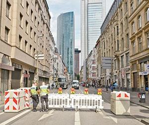 تغییر چهره خیابانهای اروپا در ترافیک تروریسم