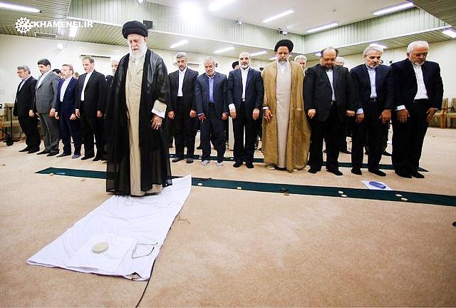 دیدار هیات دولت با رهبری پایان یافت