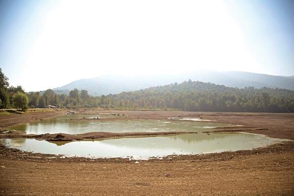 دریاچه الندان یک گام تا خشکی کامل