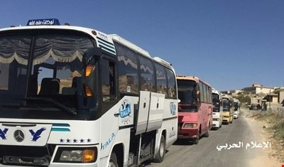 انتقال تروریستهای داعش از قلمون غربی به دیرالزور