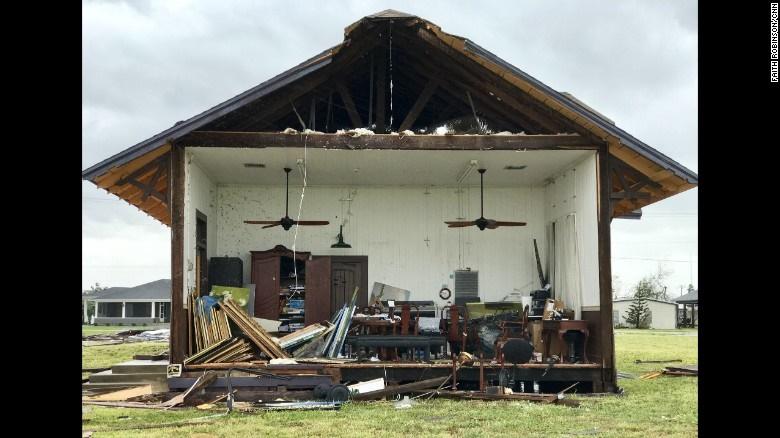 تصاویری از ویرانیهای توفان هاروی در ایالت تگزاس