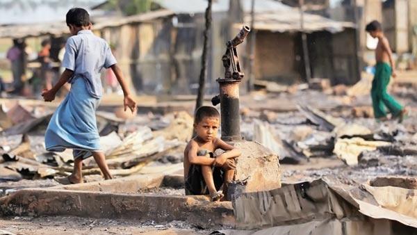 کشتار مسلمانان میانمار، پیش چشم مردم جهان