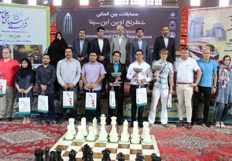 مسابقات شطرنج بینالمللی ابن سینا با معرفی نفرات برتر به کار خود پایان داد
