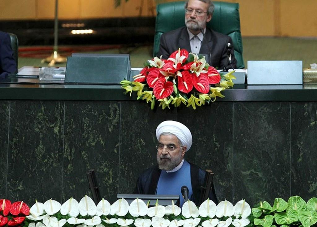دکتر روحانی در مراسم تحلیف ریاست جمهوری دوازدهم