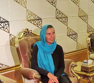 موگرینی با روحانی و ظریف در تهران دیدار میکند