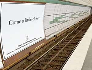 تبلیغ مرگ در شرکت کفن و دفن