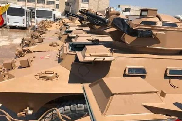 تحویل خودروهای زرهی به معارضان سوری توسط ترکیه