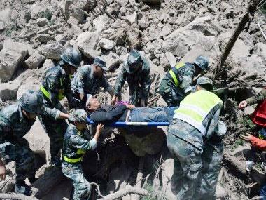 زمینلرزه ۷ ریشتری در ایالت سیچوان چین