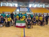 شهرداری آمل به عنوان قهرمانی جام پادشاهی بسکتبال با ویلچر تایلند دست یافت