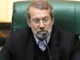 لاریجانی درمورد غیبت وزیر کار: آقای ربیعی در مسیر مجلس تصادف کرده است