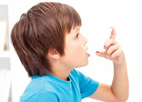 کودکان در آستانه فصل تشدید آسم
