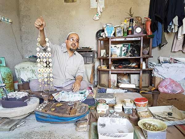 روزگار آخرین بازمانده از نسل سازندگان زیورآلات ترکمن