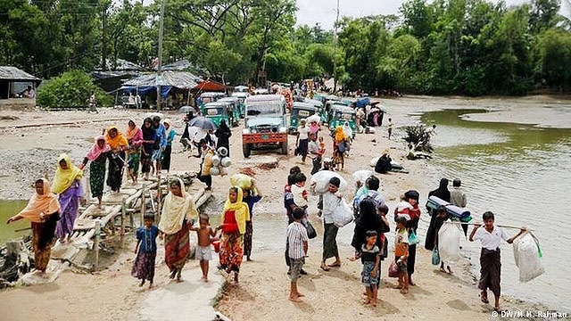 سازمان ملل: ۴۰ درصد از مسلمانان میانمار به بنگلادش گریختهاند