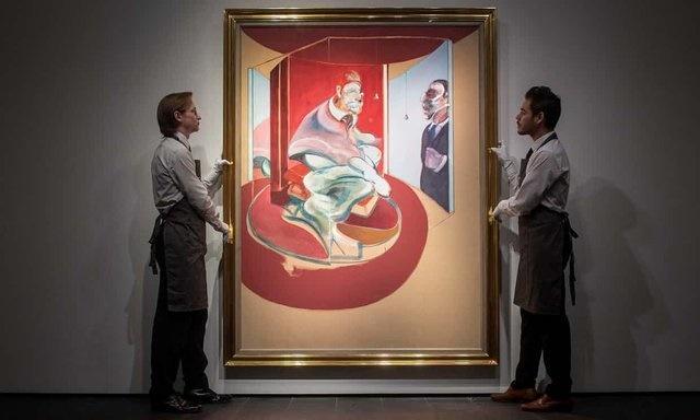 گاردین | حراج نقاشی پاپ بعد از ۴۵ سال