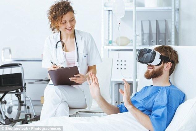 واقعیت مجازی درد را تسکین میدهد