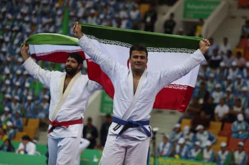 بازیهای داخل سالن آسیا؛ یک طلا و یک نقره برای جوجیتسوی ایران در فینال وطنی