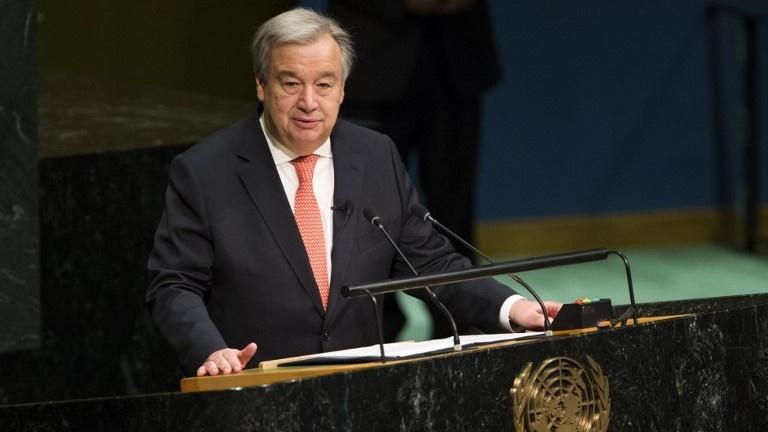 آغاز بکار هفتاد و دومین اجلاس مجمع عمومی سازمان ملل متحد با سخرانی دبیرکل