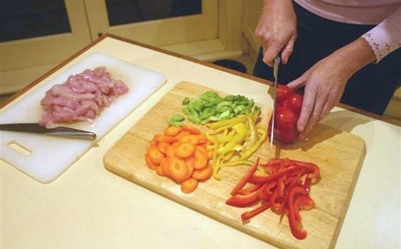 food preparing