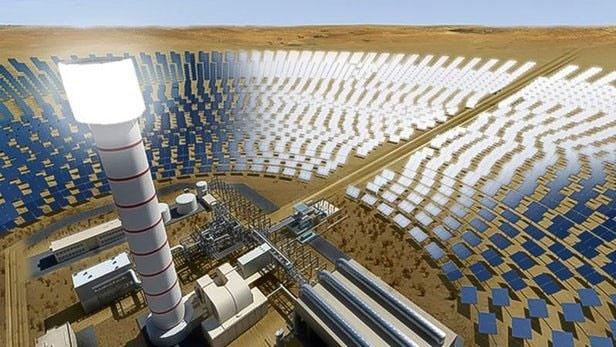 ساخت بلندترین برج خورشیدی دنیا کلید خورد