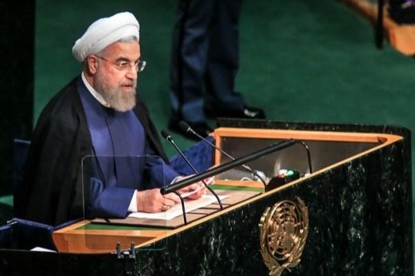 پخش زنده سخنرانی روحانی در سازمان ملل زنده از رادیو و تلویزیون