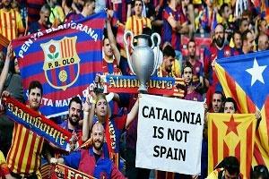 حمایت باشگاه بارسلونا از رفراندوم استقلال کاتالونیا