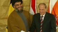 حمایت قوی میشل عون از حزب الله لبنان