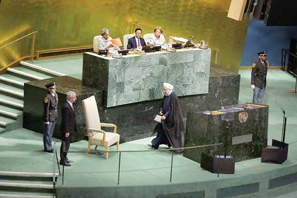 سازمان ملل- دکتر حسن روحانی