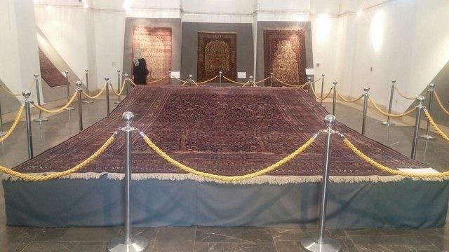کاخ گلستان | نمایش نخستین فرشهای باغی قاجاری