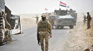 تداوم اقدامات بر ضد تجزیه عراق