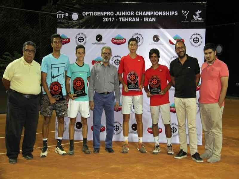 قهرمانان مسابقات تنیس بینالمللی جوانان شناخته شد