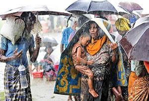 دفاع نظامیان میانمار از کشتار مسلمانان روهینگیا
