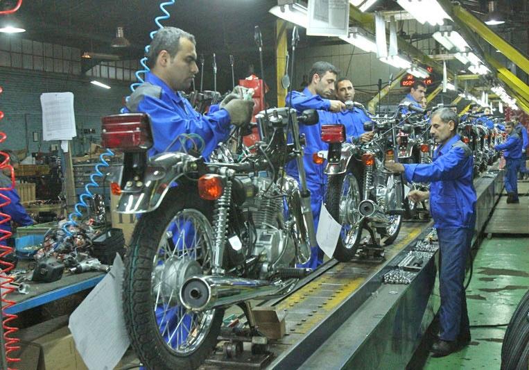 نقض مصوبه توقف شمارهگذاری موتور سیکلتهای کاربراتوری   ۷۰ درصد کارخانهها تعطیل شدند