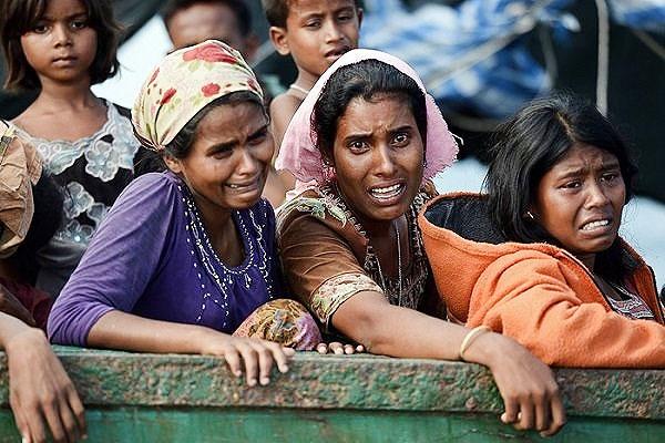 تراژدی مسلمانان روهینگیایی؛ ۱۲۳ هزار آواره