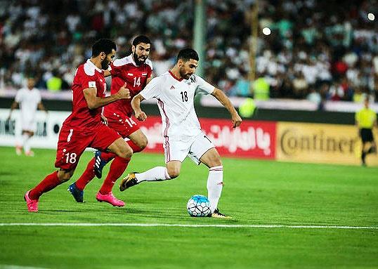 فوتبال ایران و سوریه