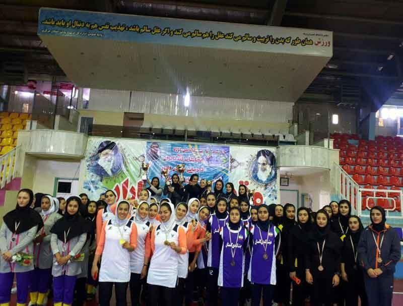 تهران قهرمان کبدی جوانان دختر کشور شد