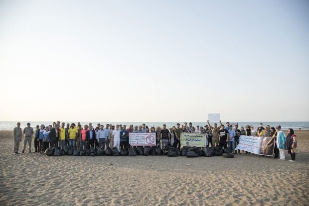 پاکسازی طبیعت ایران به دریا رسید