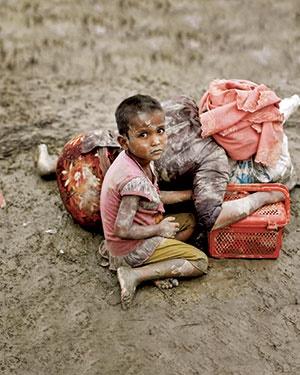 مینها، سد راه آوارگان روهینگیا