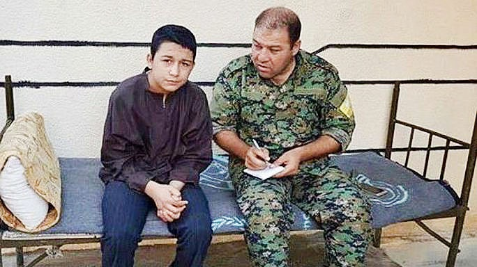جلاد داعش نوجوان