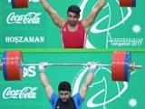 بازیهای داخل سالن آسیا؛ هاشمی نقره ۱۰۵ کیلوگرم وزنهبرداری را ازآن خود کرد