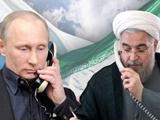 گفتگوی تلفنی روحانی و پوتین در مورد مسائل منطقه