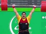 بازیهای داخل سالن آسیا؛ تیموری برنز گرفت/ وزنهبرداری ایران سوم شد
