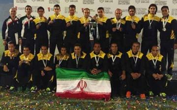 ایران نایب قهرمان فوتبال هفت نفره جهان شد