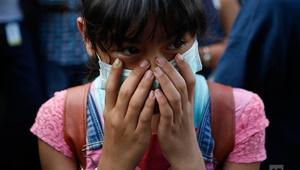عکس روز: بازمانده نگران