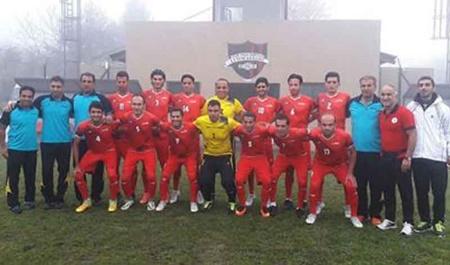 فوتبال هفت نفره جهانی | آرژانتین؛ برتری روسیه مقابل ایران